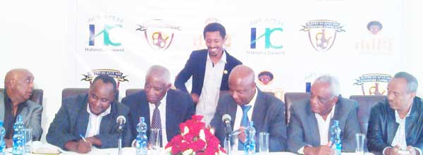 Ethiopia Coffee Signed Sponsorship Agreement with Habesha Cement