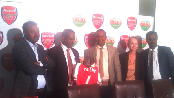 Dashen Partnership Deal with Arsenal FC