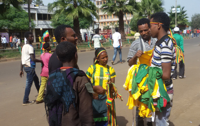 Walya Jersey on Sale at the street of Bahirdar