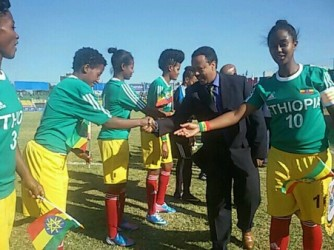 Under 20 Ethiopian Women's Team