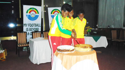 Under 20 Ethiopian Women's Team Award Cermony